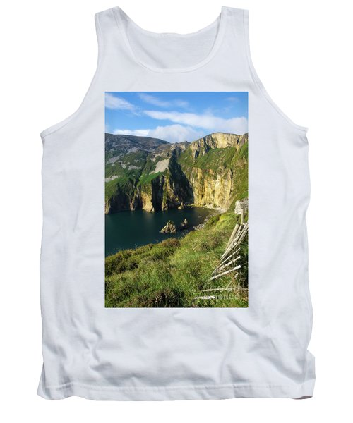 Tank Top featuring the photograph Slieve League Cliffs Eastern End by RicardMN Photography