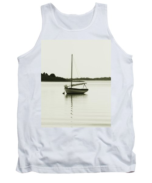 Sloop At Rest  Tank Top by Roupen  Baker