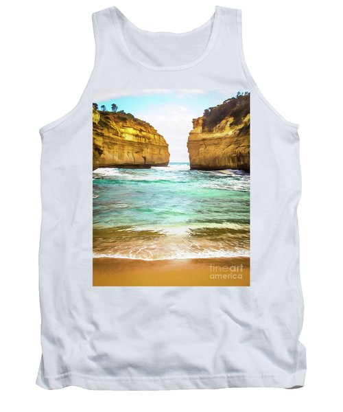 Tank Top featuring the photograph Small Bay by Perry Webster