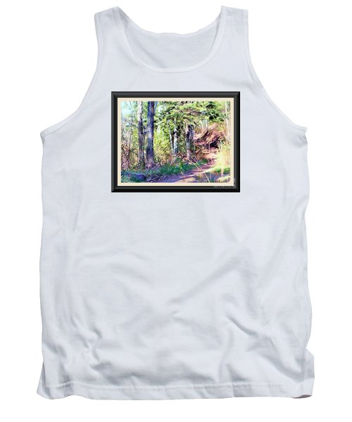 Small Park Scene Tank Top by Shirley Moravec