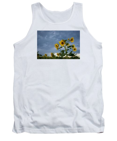 Small Sunflowers Tank Top