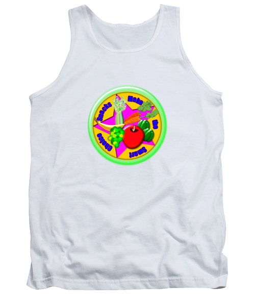 Smart Snacks Tank Top by Linda Lindall