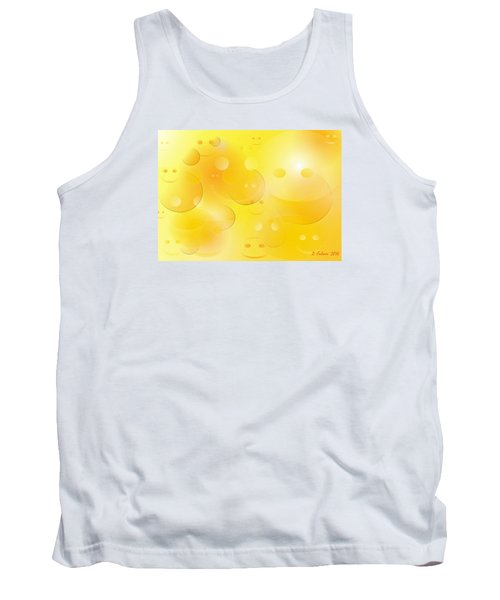 Smile Tank Top by Denise Fulmer