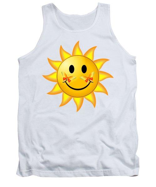 Smiley Face Sun Tank Top