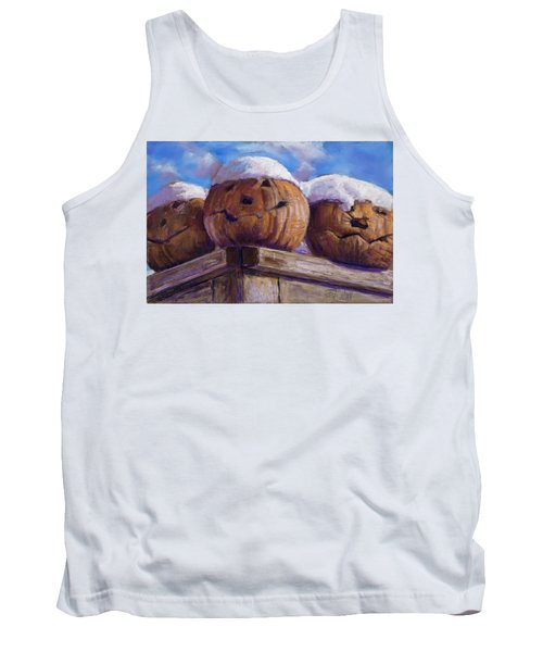 Tank Top featuring the pastel Smilin Jacks by Billie Colson