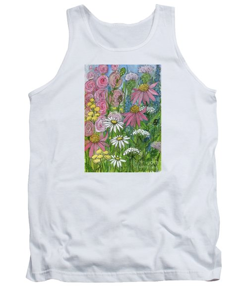 Smiling Flowers Tank Top