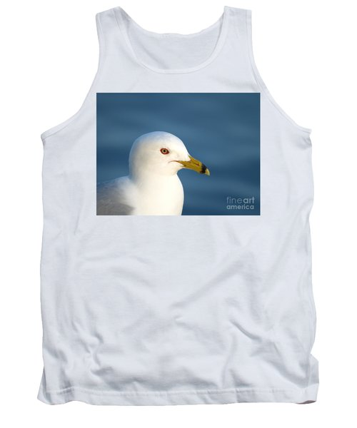 Smiling Seagull Tank Top by Susan Dimitrakopoulos
