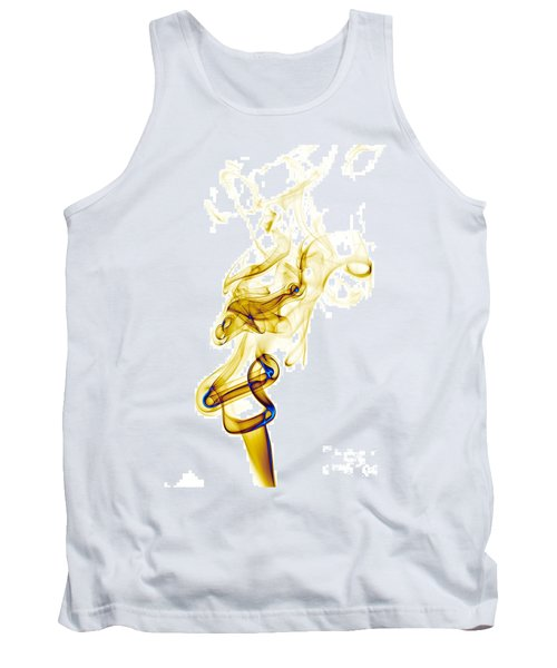 Tank Top featuring the photograph smoke XXXIX by Joerg Lingnau