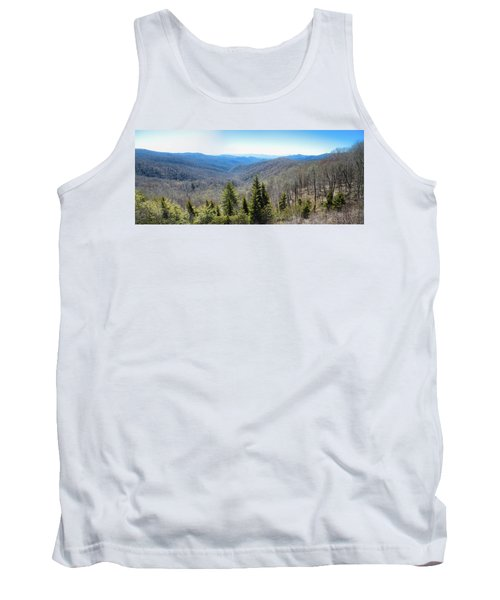 Smokey Mountains Pan Tank Top