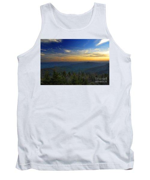 Smoky Mountain Sunset Tank Top