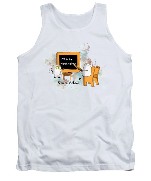 Smore School Illustrated Tank Top