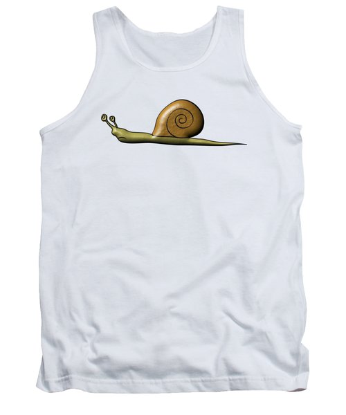 Snail Tank Top by Michal Boubin
