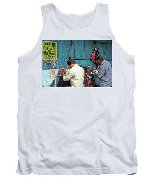 Tank Top featuring the photograph Snip And Tuck by Marion Galt