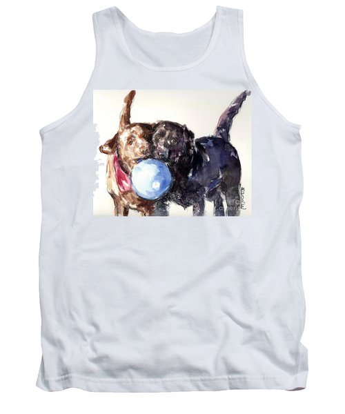 Snow Ball Tank Top by Molly Poole