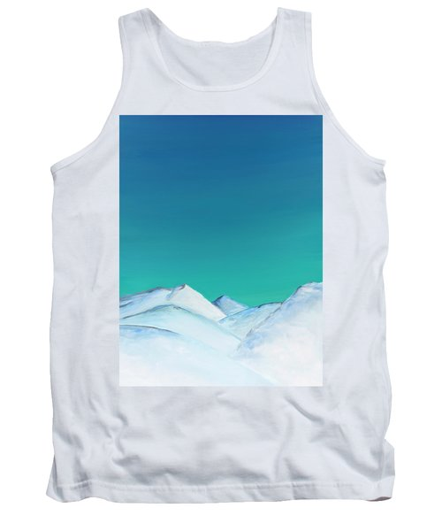 Snow Capped Mountains Tank Top
