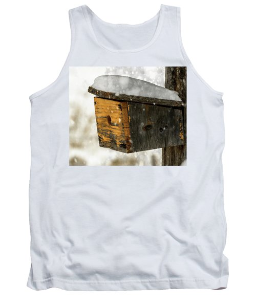 Snow Cover Tank Top by Sherman Perry