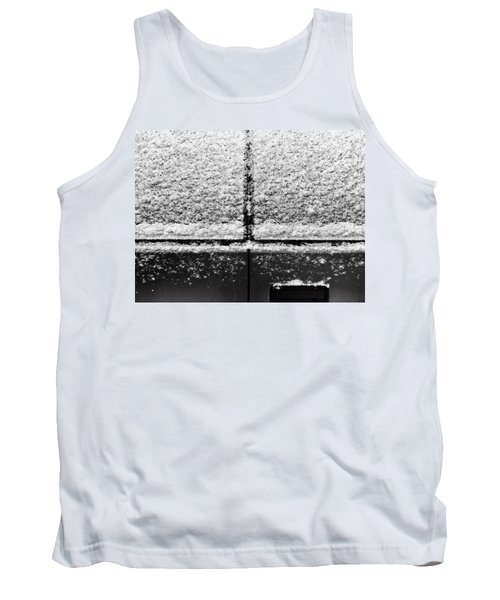 Snow Covered Rear Tank Top