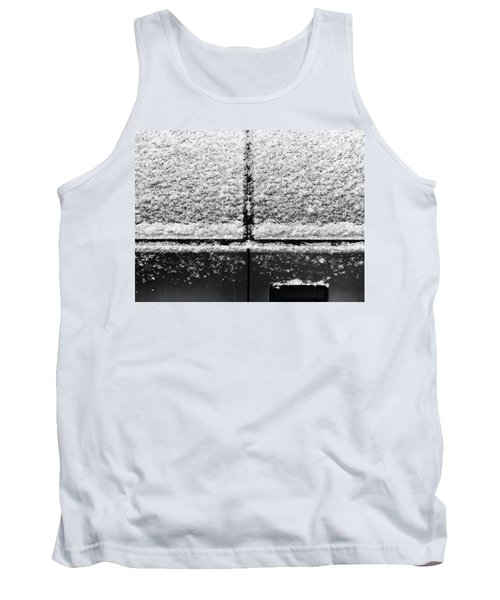 Tank Top featuring the photograph Snow Covered Rear by Robert Knight
