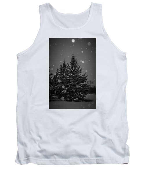 Tank Top featuring the photograph Snow Flakes by Annette Berglund