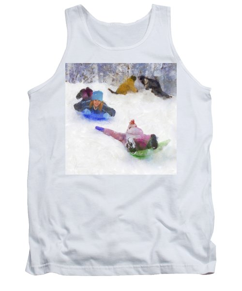 Snow Fun Tank Top by Francesa Miller