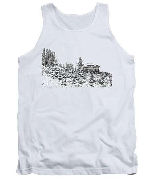 Tank Top featuring the photograph Snow In July 2 by Teresa Zieba