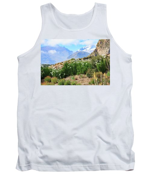 Tank Top featuring the photograph Snow In The Desert by David Chandler