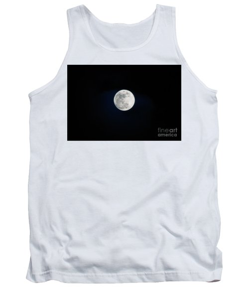 Snow Moon 4 Tank Top