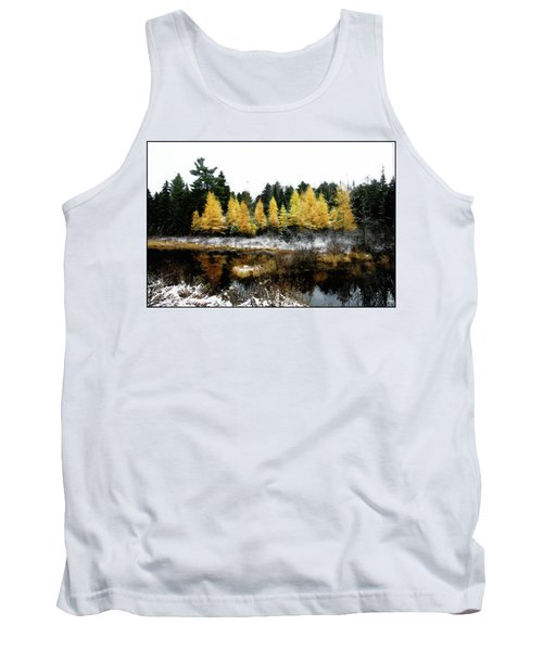 Snow Paints Larch Grove Tank Top