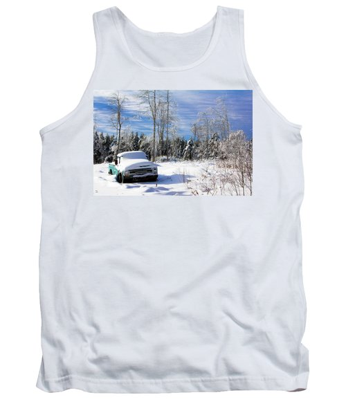 Snow Truck Tank Top