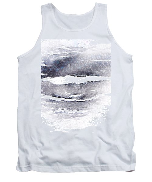 Tank Top featuring the photograph Snowstorm In The High Country by Lenore Senior