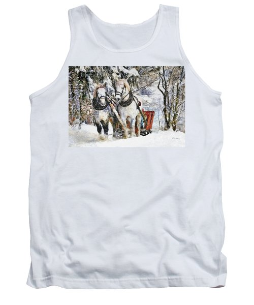 Snowy Day Tank Top