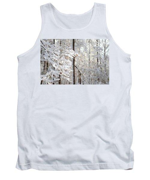 Snowy Dogwood Bloom Tank Top