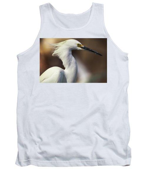 Snowy Egret Tank Top