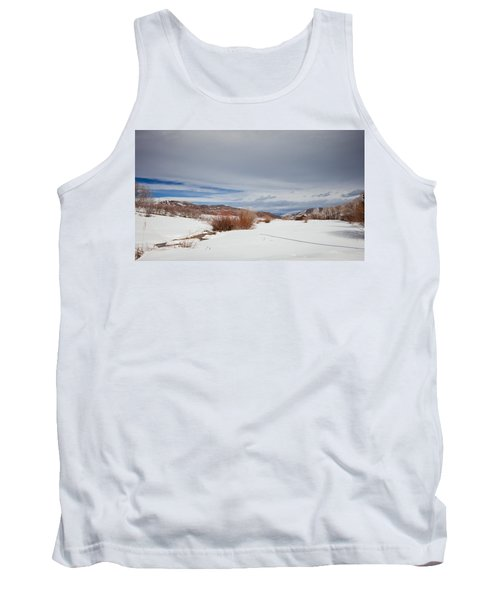 Snowy Field Tank Top
