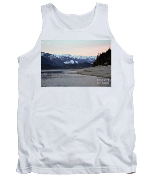 Tank Top featuring the photograph Snowy Mountains by Victor K