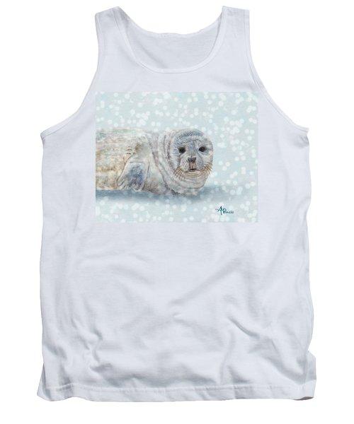 Snowy Seal Tank Top