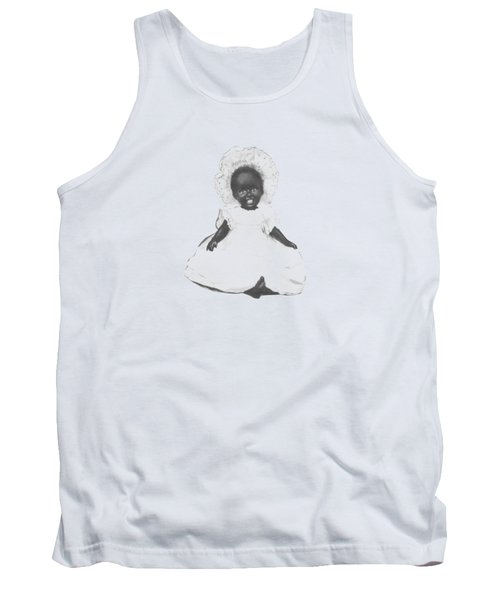 So Clean And White Tank Top