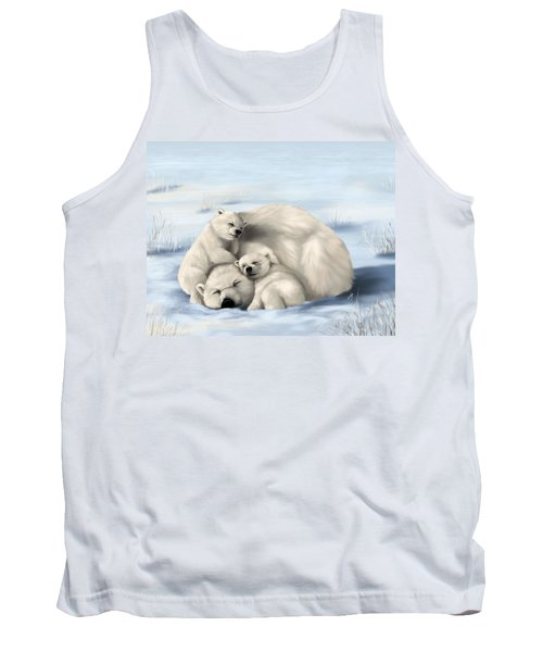 Tank Top featuring the painting So Much Love by Veronica Minozzi