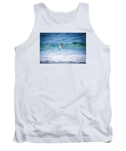 Soaring Over The Ocean Tank Top by Shelby Young