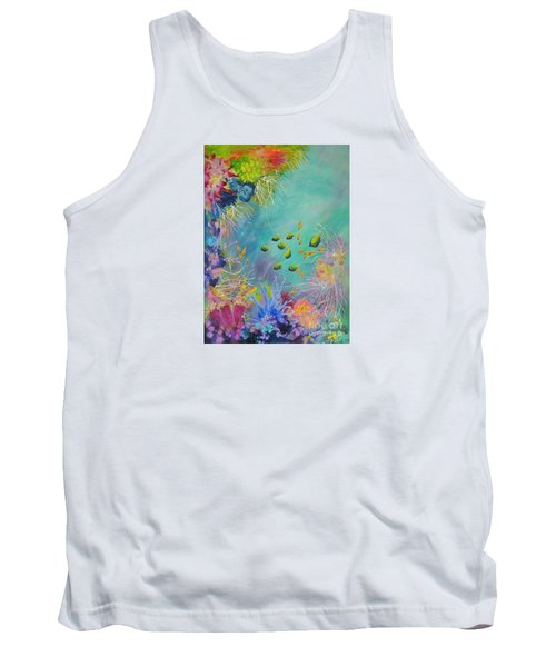 Soft And Hard Reef Corals Tank Top