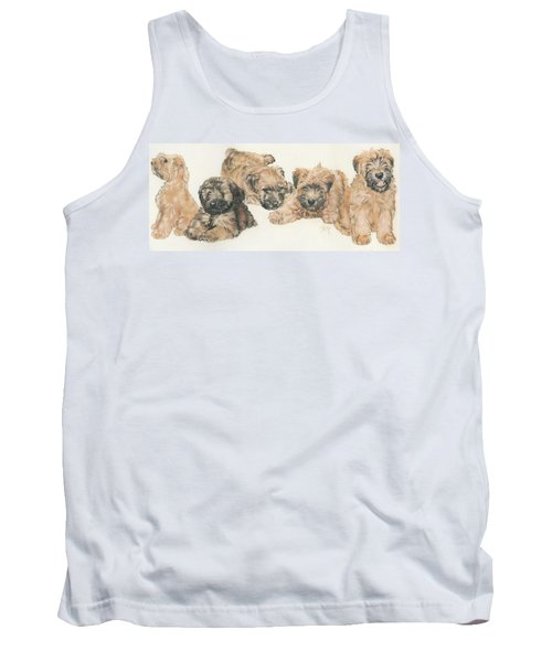 Soft-coated Wheaten Terrier Puppies Tank Top
