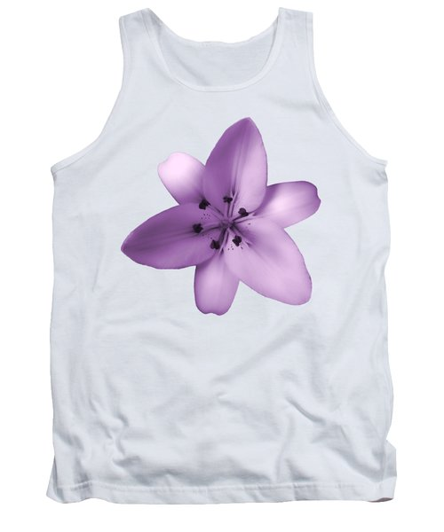Soft Purple Creme Lily Tank Top