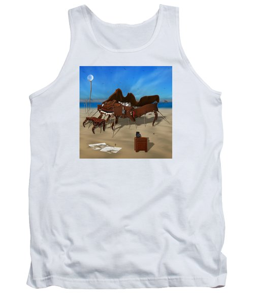 Softe Grand Piano Se Sq Tank Top by Mike McGlothlen