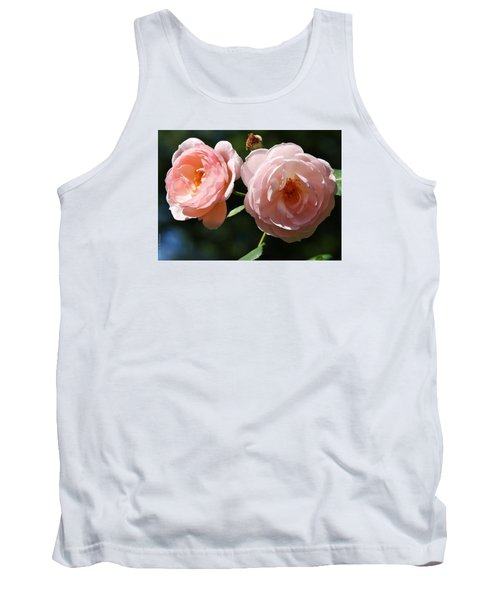 Softly Pink Tank Top by Al Fritz