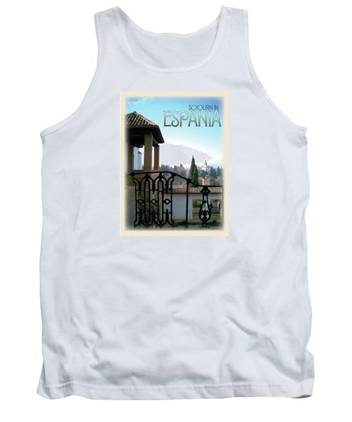 Sojourn In Espania Tank Top