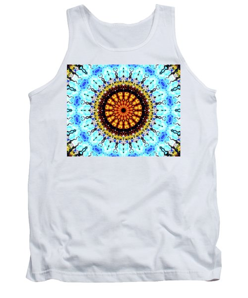 Tank Top featuring the digital art Solar Flare 1 by Wendy J St Christopher