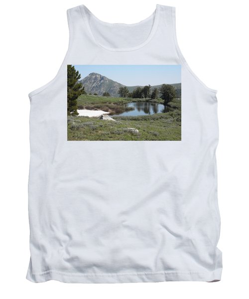 Tank Top featuring the photograph Soldier Lake And Peak by Jenessa Rahn