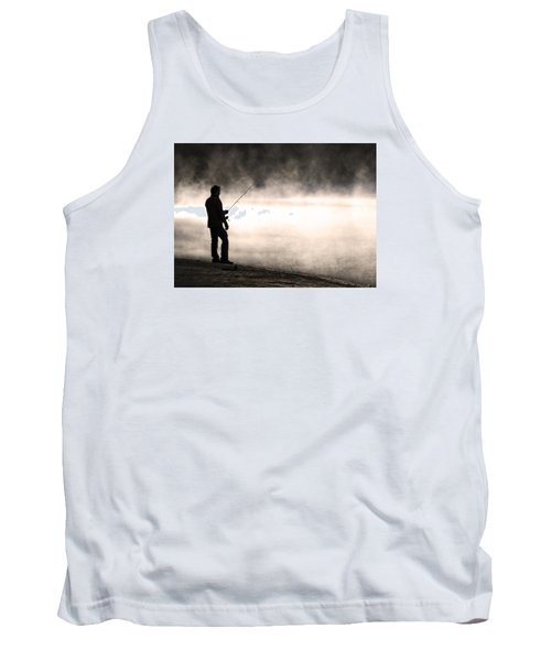 Tank Top featuring the photograph Solitude by Stephen Flint