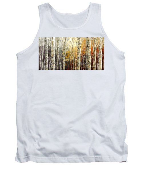 Solitudes Of Twilight Tank Top