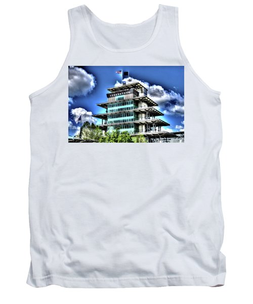 Some Cloudy Day Tank Top by Josh Williams